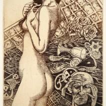 kavan30.10- Cherchez la femme III, lept, 150x100mm, 2013