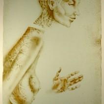 kavan32.12- Slečna B., litografie, 580x440mm, 2014