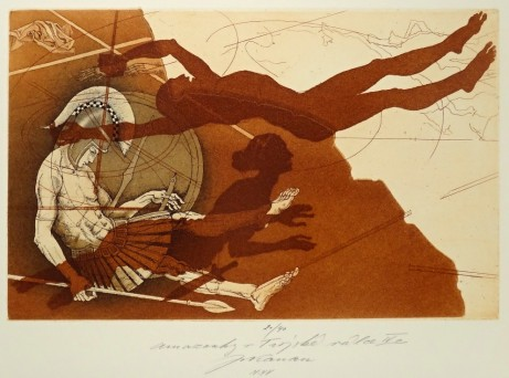 Jan Kavan - grafika