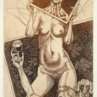 kavan39.8- Cherchez la femme I, lept, 150x100mm, 2013