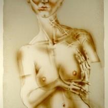kavan41.13- Slečna Cecílie, litografie, 580x440mm, 2014