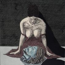 Salome s hlavou Jana Křtitele,2011,47x47