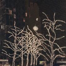 Vánoce na 73.ulici,N.Y.,bar.linoryt,2014,67x42