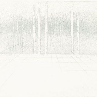 Prostor, 2015, 34x50, lept, měkký kryt