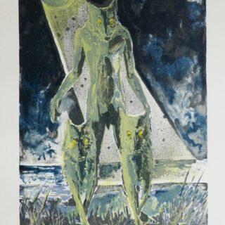 smečka litografie 50x70