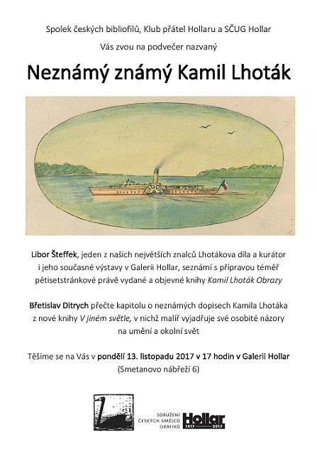 Neznámý známý Kamil Lhoták - po 13.11.2017s