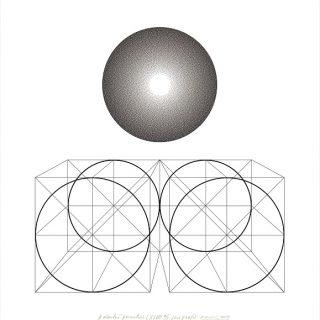 Galantní geometrie LXXVII,70x75cm 2009
