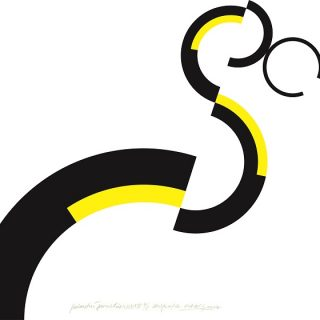 Galantní geometrie XLIII, 70x80cm, serigrafie 2007