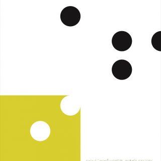 Galantní geometrie XXVIII, 70x75cm, serigrafie 2006