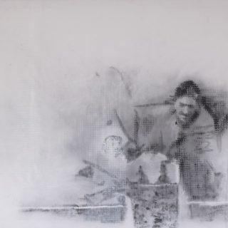 Identity, combined print, 140x160cm, 2016