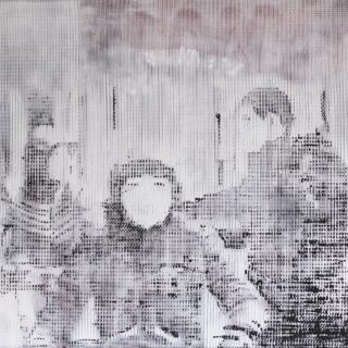 Next, combined print, 140x160cm, 2016