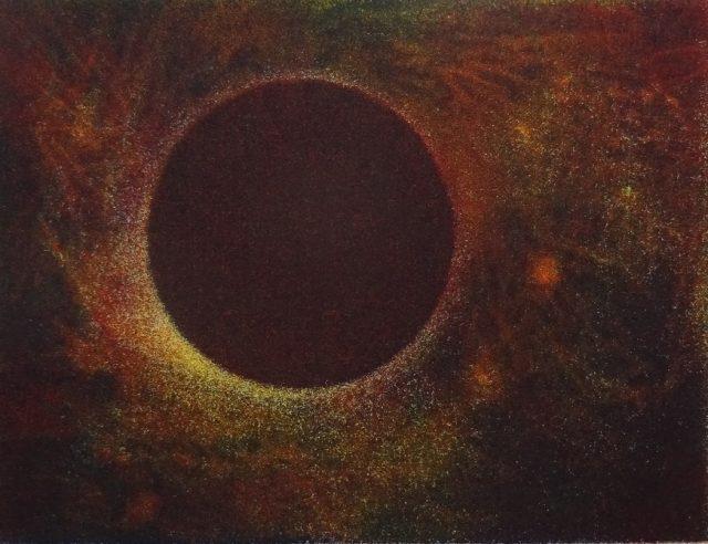 Jiná planeta, akvatinta, 2016