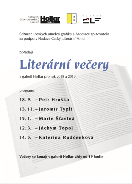 Literarni vecery Hollar - program