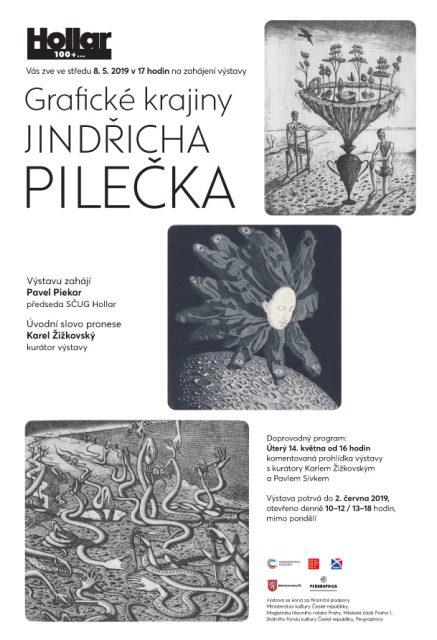 Grafické krajiny Jindřicha Pilečka A