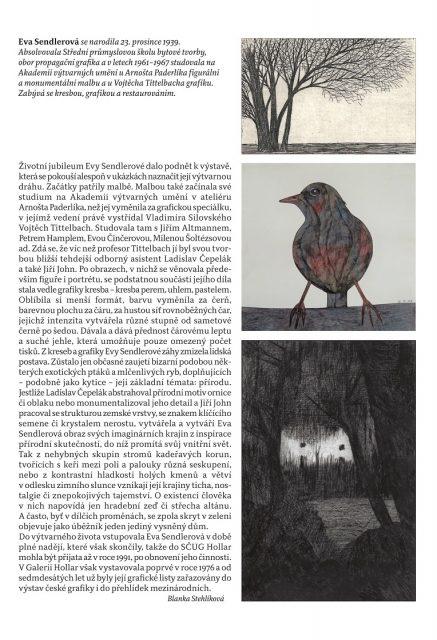 Eva Sendlerová : Grafika a kresby b