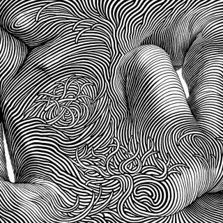 Proměny, linoryt, 2003, 106x142 mm