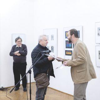 Jan Holoubek, laureát Ceny SČUG Hollar