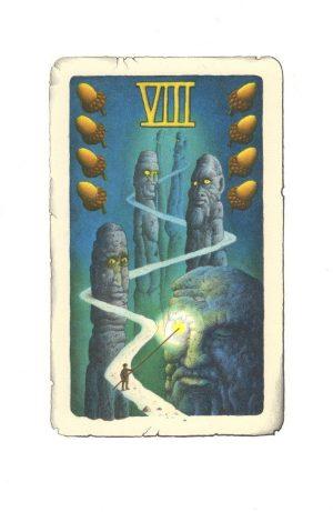 žaludy VIII-M