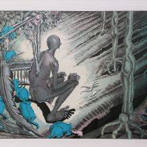 Andělská trpělivost, litografie, 100x70 cm