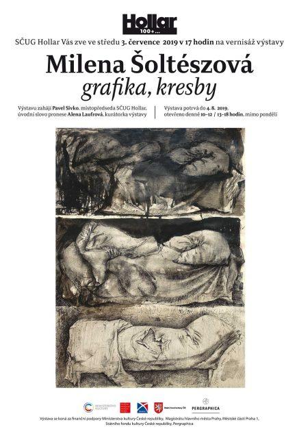 Milena Šoltészová : grafika a kresby A