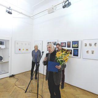František Hodonský, laureát Ceny SČUG Hollar