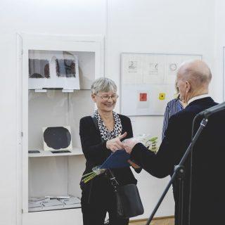 Eva Hašková, laureátka Ceny SSPE