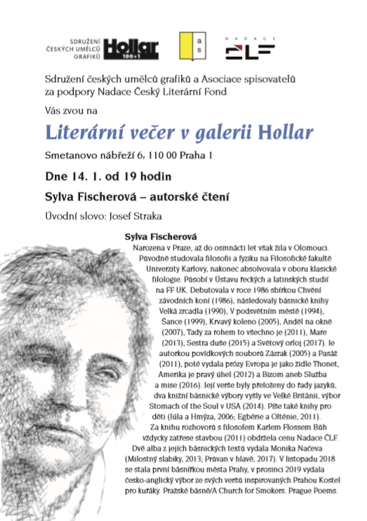 Sylva Fischerová 14.1.2020