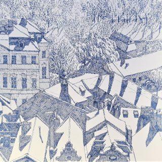 Malostranské střechy-mikrofix,32x34,26.3