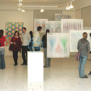 VERNISÁŽ VÝSTAVY D.PUCHNAROVÉ S MILADOU A PETREM, MMU OLOMOUC 2007