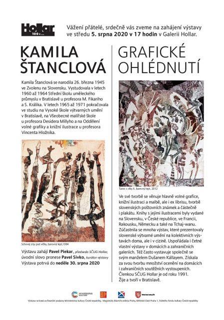 Kamila Štanclová 1