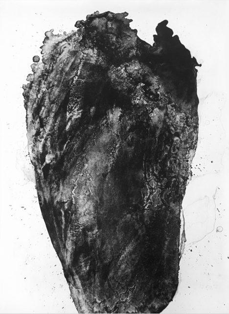 Hlava | litografie, 110 x 75 cm, 2019