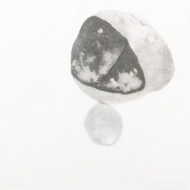 Malé světy | litografie, 30 x 30 cm, 2017