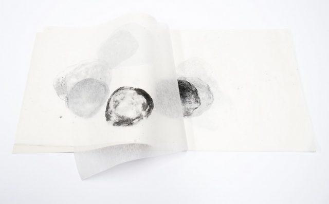 Mísící se malé světy | litografie, 24 x 30 cm, 2017