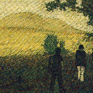 Zbyněk Hraba, Cestou na Ranou, linoryt, 2007 / 170 x 265 mm