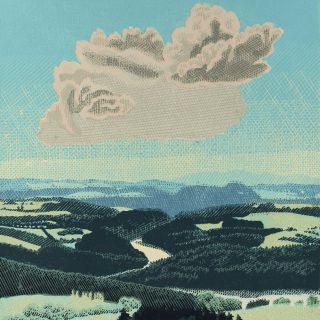 Pavel Piekar, Česká krajina, linoryt, 2012 / 650 x 510 mm