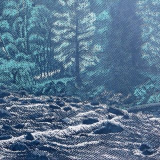 Pavel Piekar, Otava, linoryt, 2017 / 470 x 650 mm