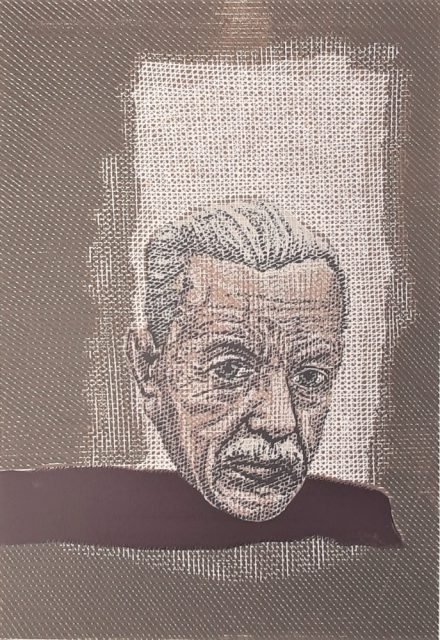 Pavel Piekar - Josef Šíma, barevný linoryt, 2009