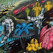 Xénia Hoffmeisterová - Lekce čarodějnictví,2007,litografie,76x64 cm, náklad 60d