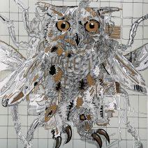 Xénia Hoffmeisterová - Muchožroutka,2004,litografie,80x60cm,náklad 60d