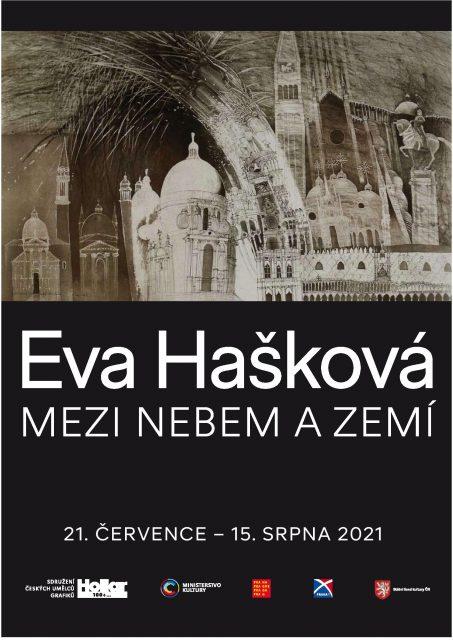 PLAKÁT Eva Hašková - Mezi nebem a zemí