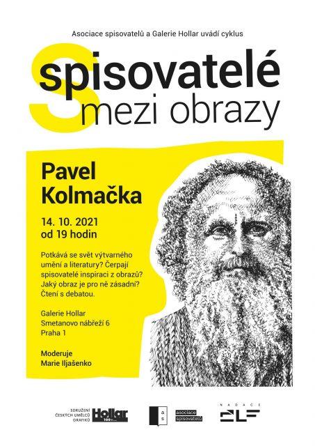 Spisovatelé mezi obrazy 2021 - Pavel Kolmačka (1)