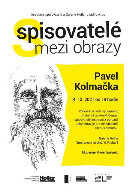 Spisovatelé mezi obrazy 2021 - Pavel Kolmačka (2)